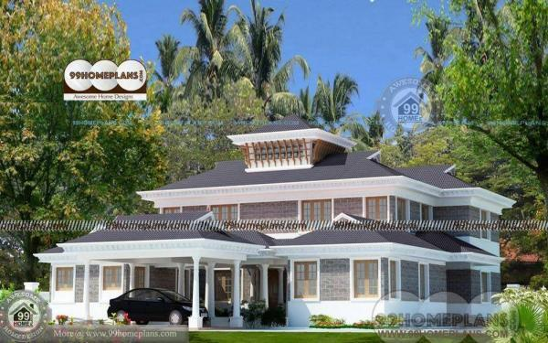 Simple Indian Home Design With Traditional Concept Of