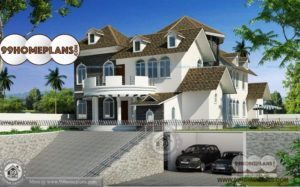 Small Bungalow House Plans Indian with Modern Two Story Residences