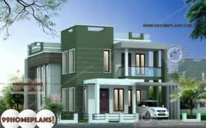 Small Duplex House Plans Indian Style First Class 2 Floor Low Cost Plans
