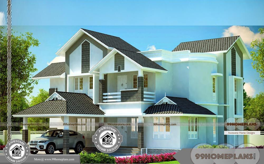 Small modern house plans with loft contemporary design for Modern house design collection