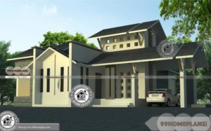 South Facing Home Vastu With Garage and Home 3D Elevation Collection