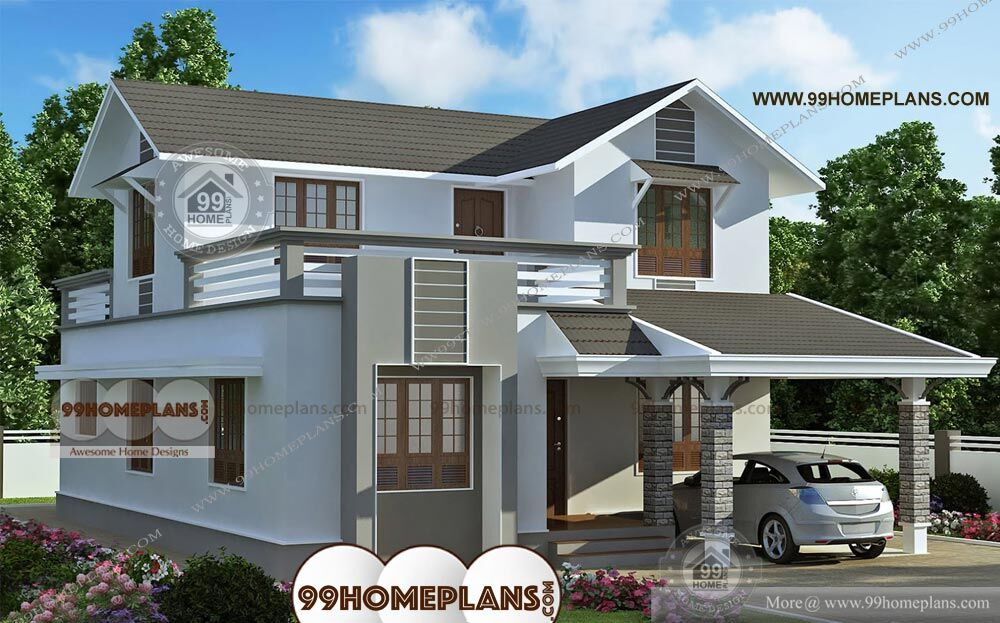 South Facing House Plans Indian Style Two Story Modern
