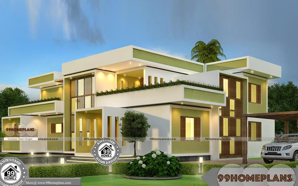 Budget Of This House Is 64 Lakhs U2013 Square House Design Plans