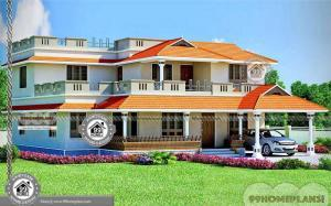 Two Storey Beach House Designs with Decorating & Furnishing Styles