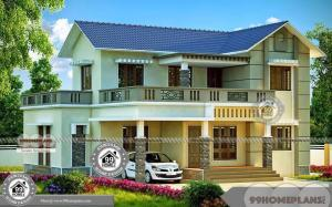 Two Storey Four Bedroom House Plans Vaastu Based Home Construction