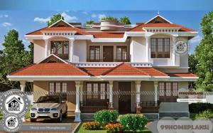 Two Storey Residential House Floor Plan Residential Plans and Elevations