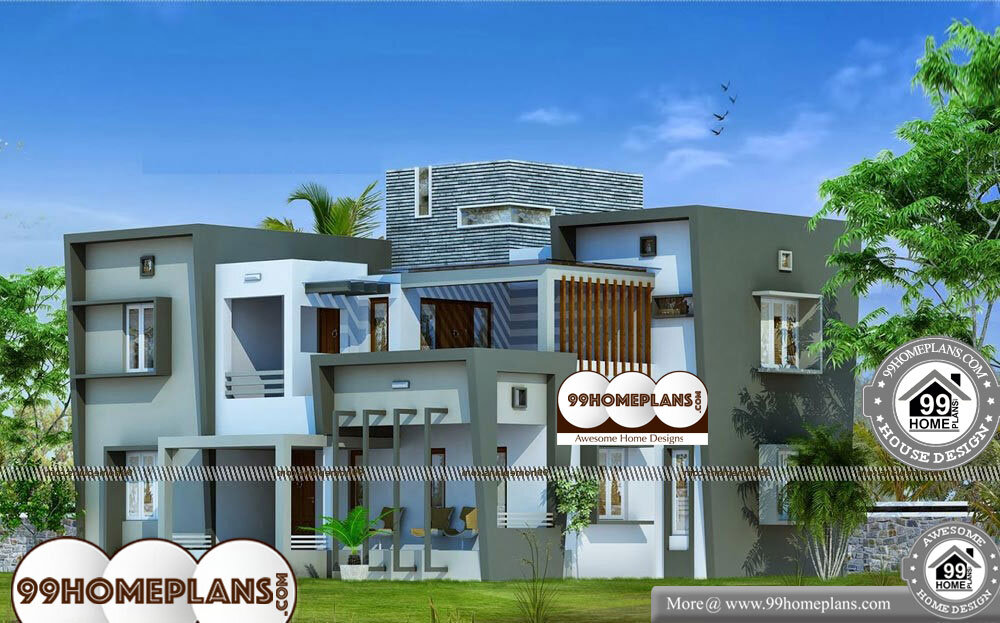 Two Story Simple House Plans - 2 Story 2850 sqft-Home