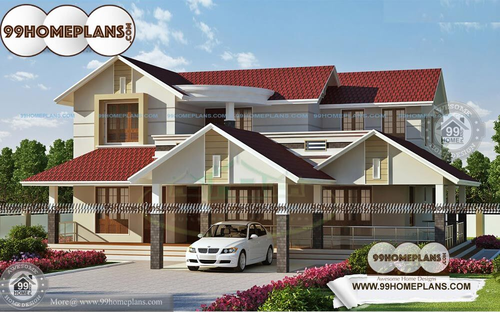 Typical Kerala House Plans 2 Story Modern Indian Style