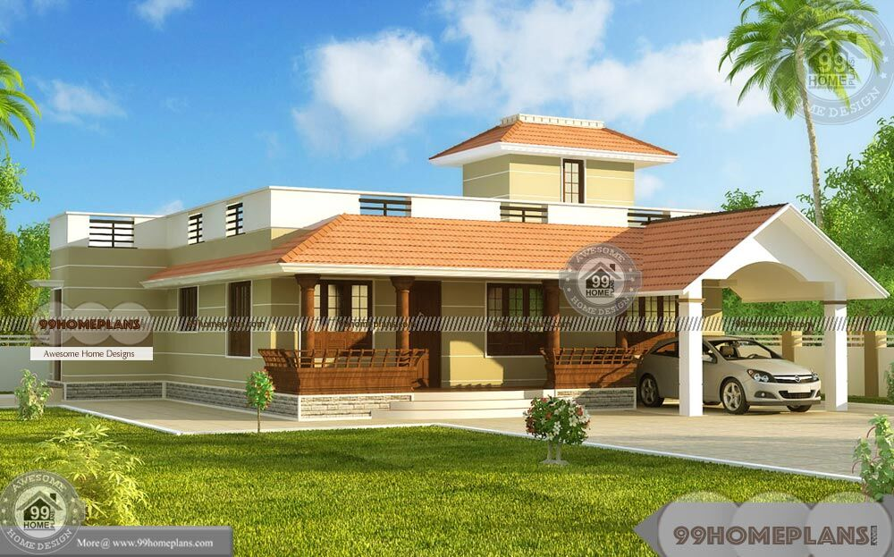 Unique one story house plans with simple classic pattern for Unique one story floor plans