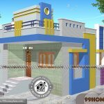 1 Floor House Design with Large & Cute Low Budget Stylish Home Plans