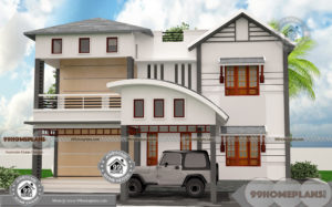 1500 Sq Ft Bungalow Plans with Double Floor Simple Low Rate Houses