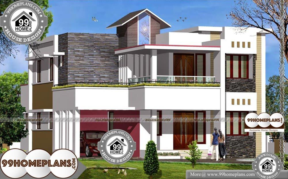 2 Floor Building Design - 2 Story 2219 sqft-Home