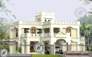 2 Floor House Design with Contemporary Ordinary Pattern Home Plans