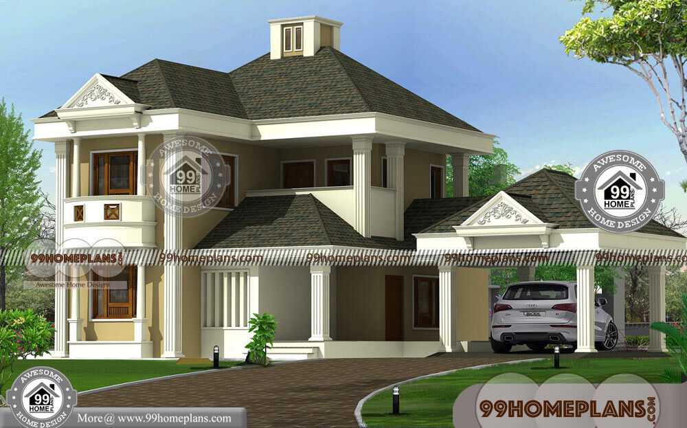 2 Floor Modern House Design with Bungalow Style ...
