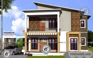 2 Storey Home Designs with Complex and Complete House Pattern Plans