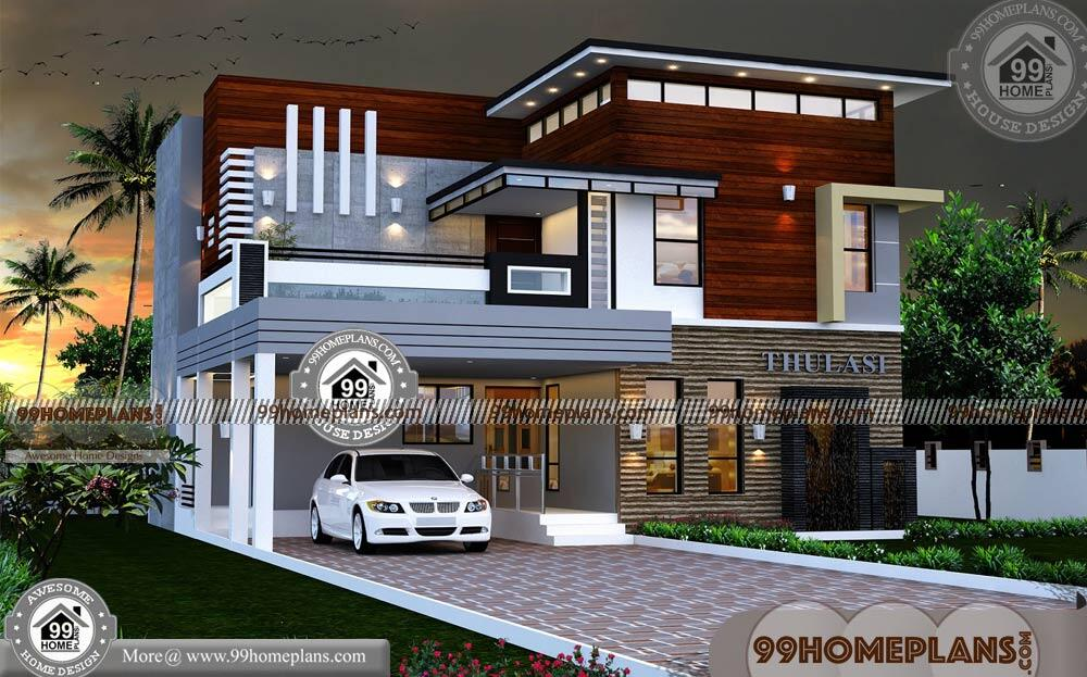 2 Storey House Design With Terrace With Contemporary Modern Homes