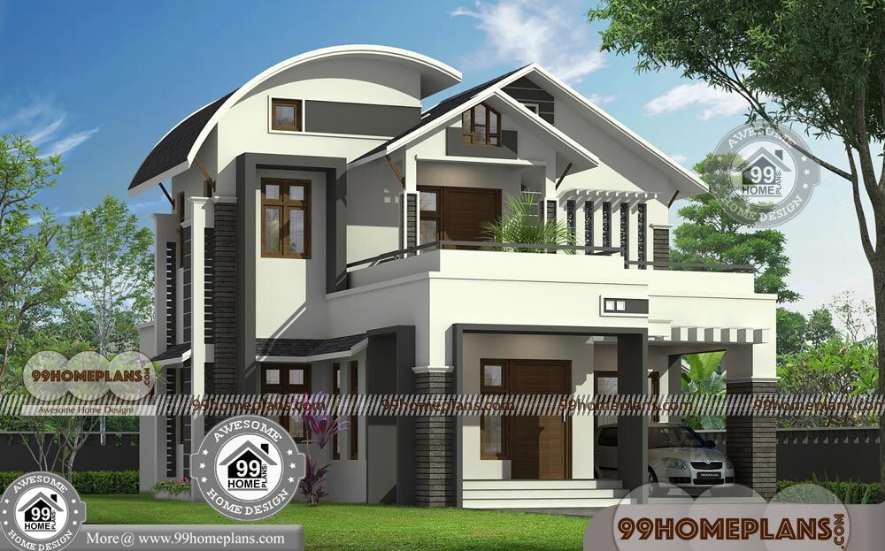 Budget Of This House Is 31Lakhs 2 Storey Modern Designs And Floor Plans