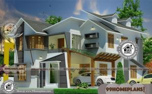 2 Story Contemporary Homes with Awesome Grand House Collection Free