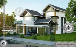 2 Story Garage Plans with More Styles of 3BHK Home Design Selections