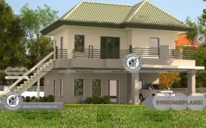 2000 Sq Ft Indian House Plans with Double Floor Award Wining Models