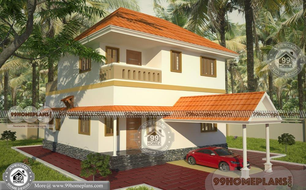 3 bedroom house design with 2 floor traditional small low cost homes - Get Modern 3 Bedroom House Low Cost Small House Design Background