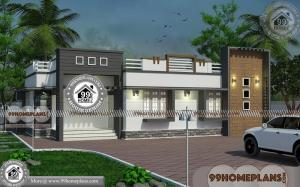 3 Bedroom Modern House Design with Single Story Latest Home Patterns