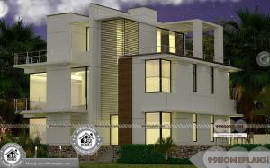 3 Storey Townhouse Designs and Apartment Style Collections, Floor Plans