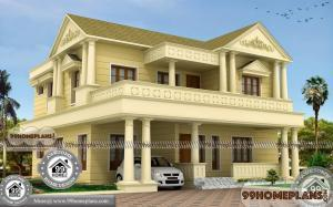 3000 Sq Ft Bungalow House Plans with Double Story Gorgeous Designs