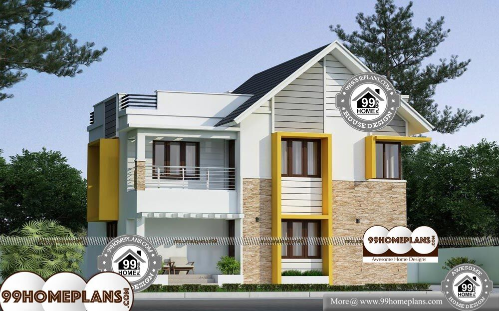 35 Foot Wide House Plans - 2 Story 1320 sqft-Home