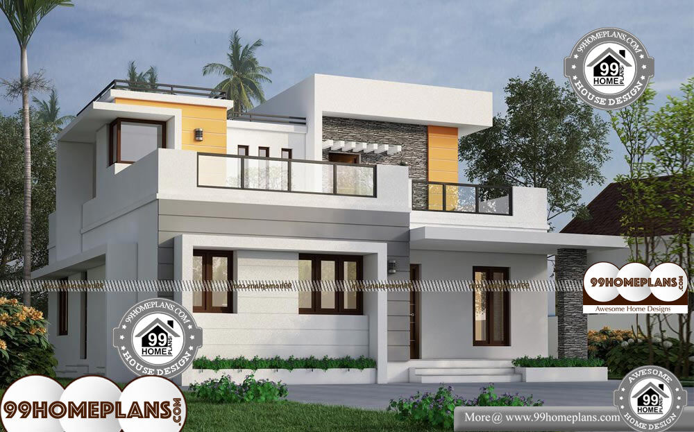 35 X 40 House Plans With Latest Low Cost Flat Type Simple
