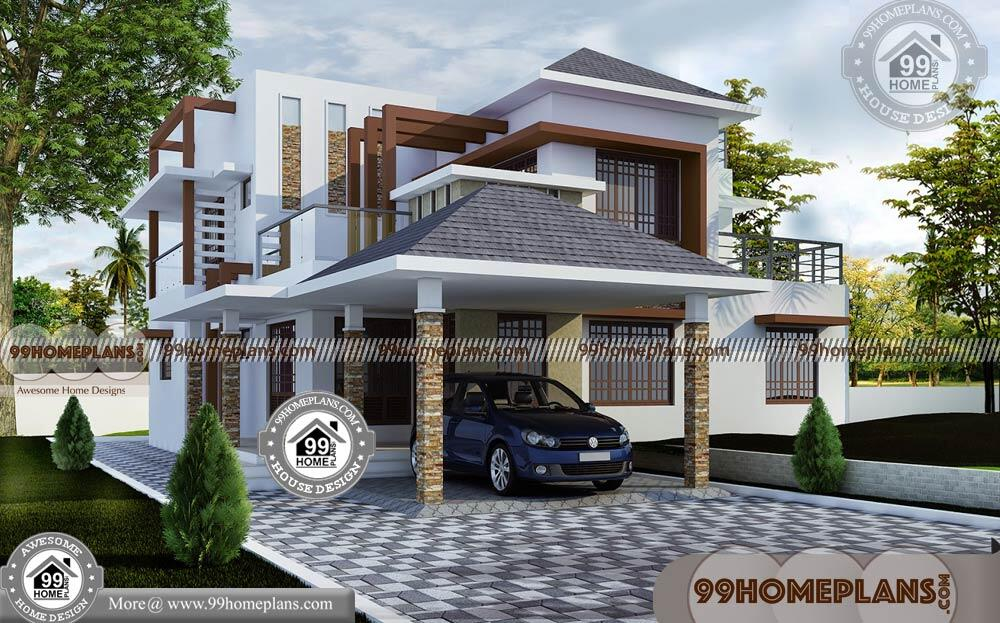 4 Bedroom Bungalow Floor Plan & Home Collections Online ...