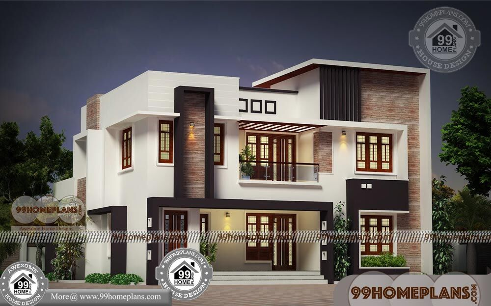 4 Bedroom Bungalow House Plans with Two Floor Contemporary ...