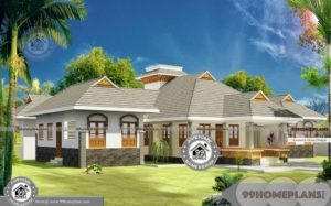 4 Bedroom House Plans One Story with Traditional Style Home Designs