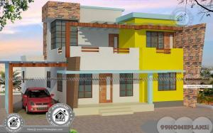 4 Bedroom Modern House with Latest Flat Pattern Residential Plan Design