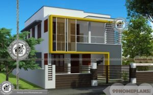 40 By 50 House Plans with City/ Urban Style Home Design Layouts Online