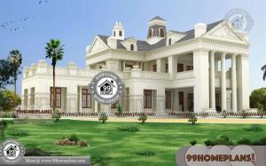 5 Bedroom Bungalow House Designs with Double Story Huge Collections