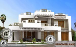 5 Bedroom Bungalow Plan with 2 Floor Flat Pattern Home Collections Free