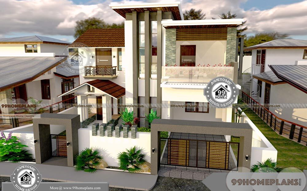 50 x 80 house plans with contemporary modern low cost home designs - Tavoli design low cost ...
