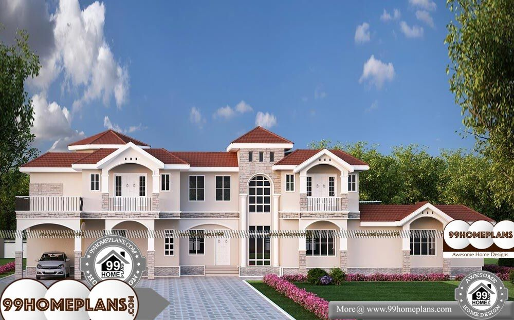 6 Bedroom Double Storey House Plans - 3 Story 10142 sqft-Home