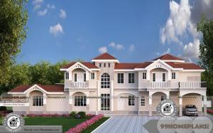 6 Bedroom Double Storey House Plans and Less Expensive Plan Designs