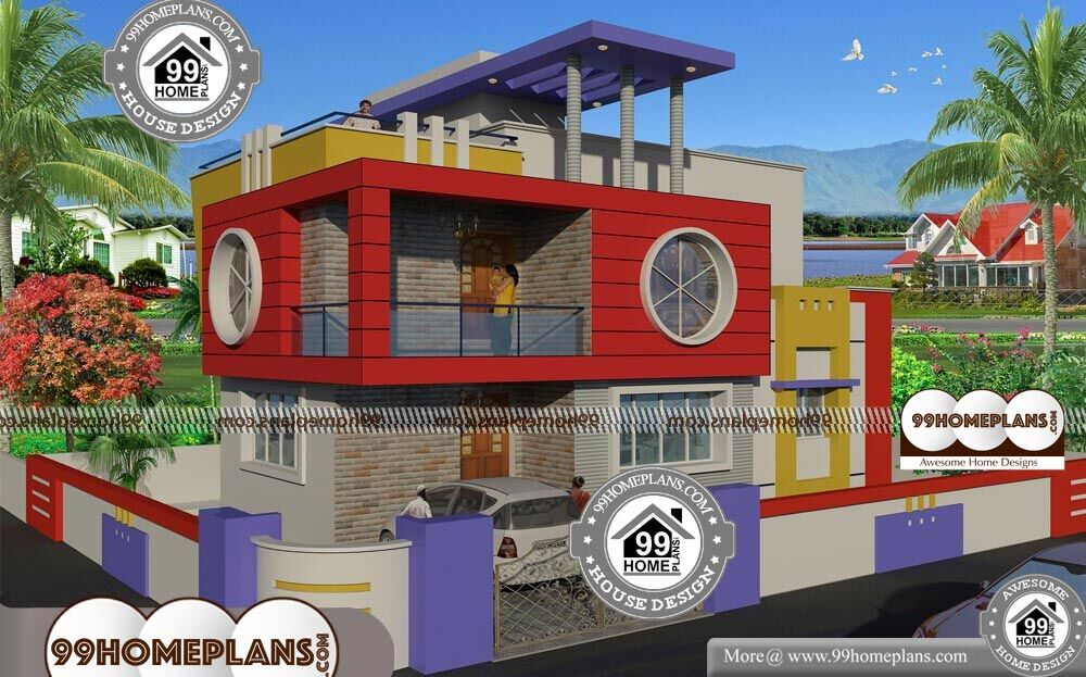 60 40 Site House Plan With 2 Floor Modern Urban Style Low