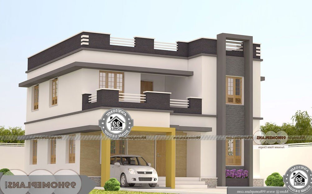 Architect Designed Houses In Bangalore - 2 Story 2252 sqft-Home