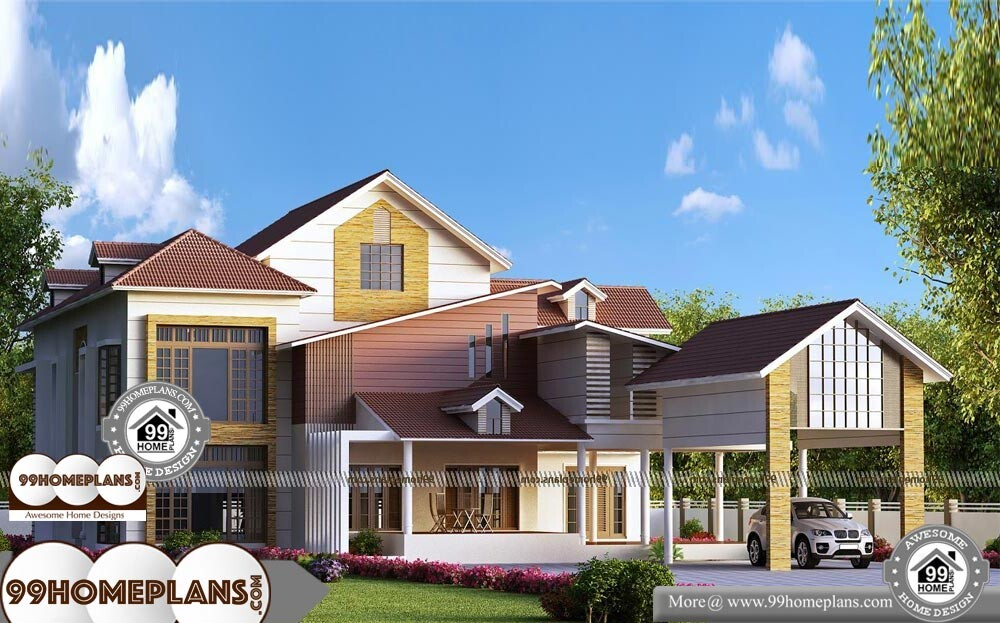 Architectural Designs For Homes - 2 Story 7941 sqft-Home