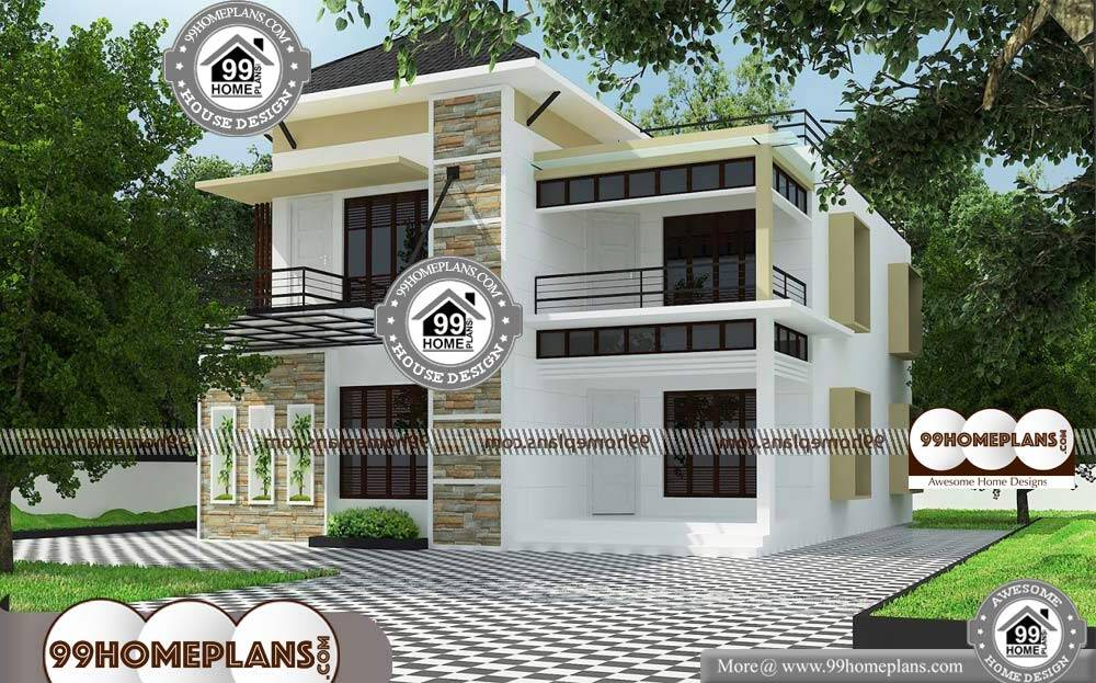 Box House Design - 2 Story 2828 sqft-Home