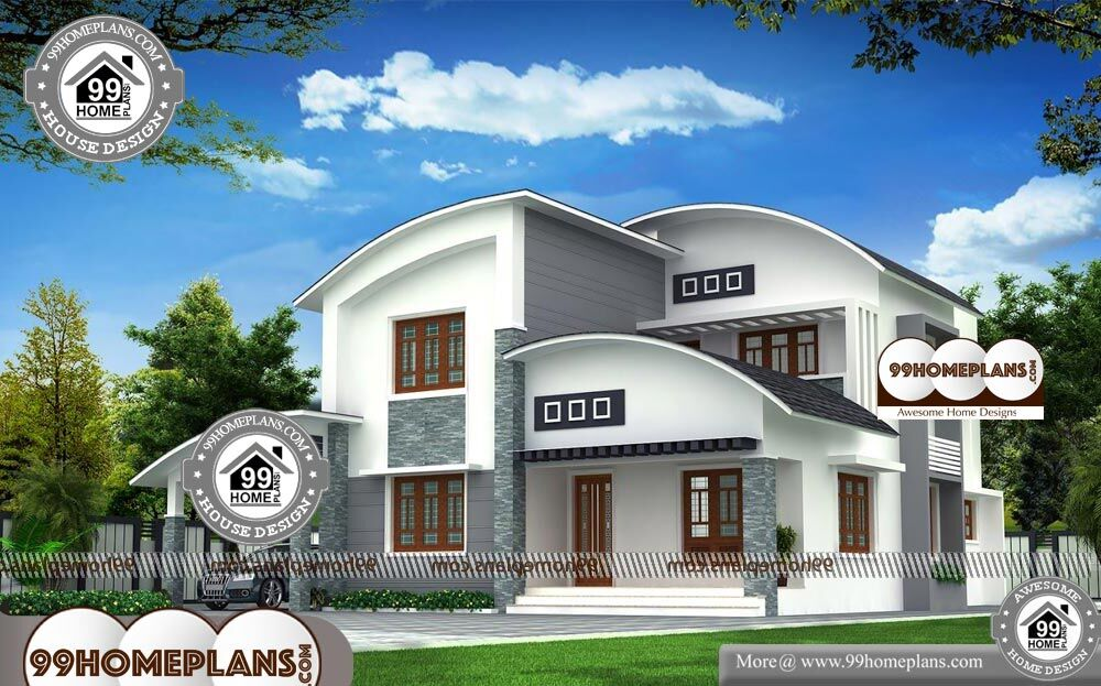 Build Plan For 4 Bedroom Bungalow - 2 Story 3000 sqft-Home