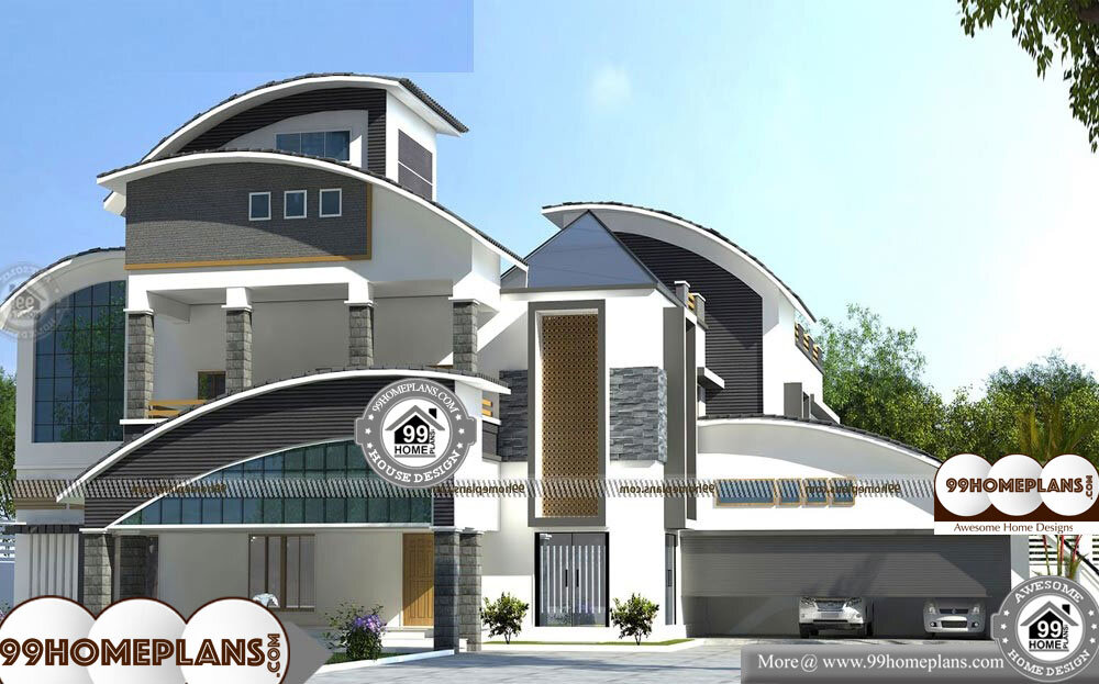 Bungalow House Plans Indian Style With Double Floor Home