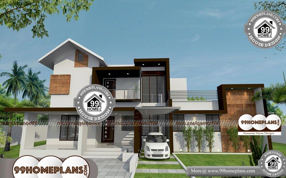 Cedar And Stone House Plans - 2 Story 2340 sqft-Home