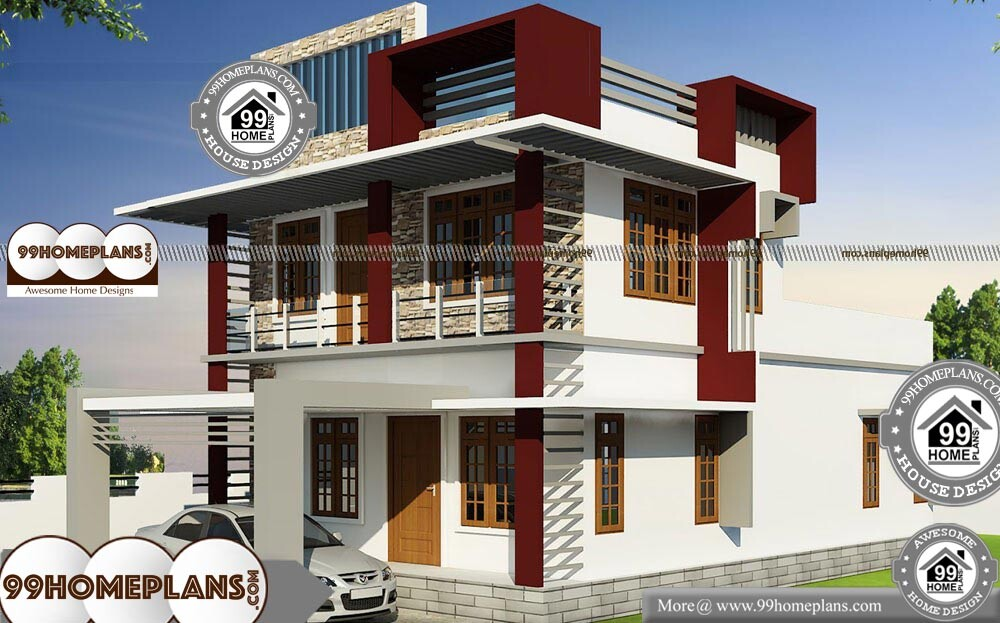 Cheap Double Storey Homes - 2 Story 2350 sqft-Home