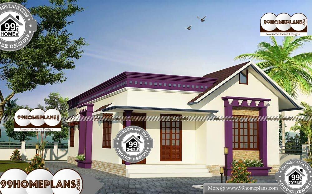 Cool One Story House Plans - Single Story 945 sqft-Home