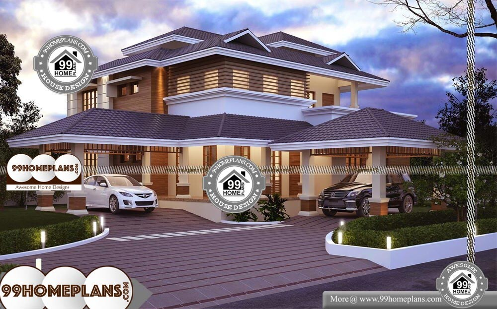Double Story Kit Homes - 2 Story 3500 sqft-Home
